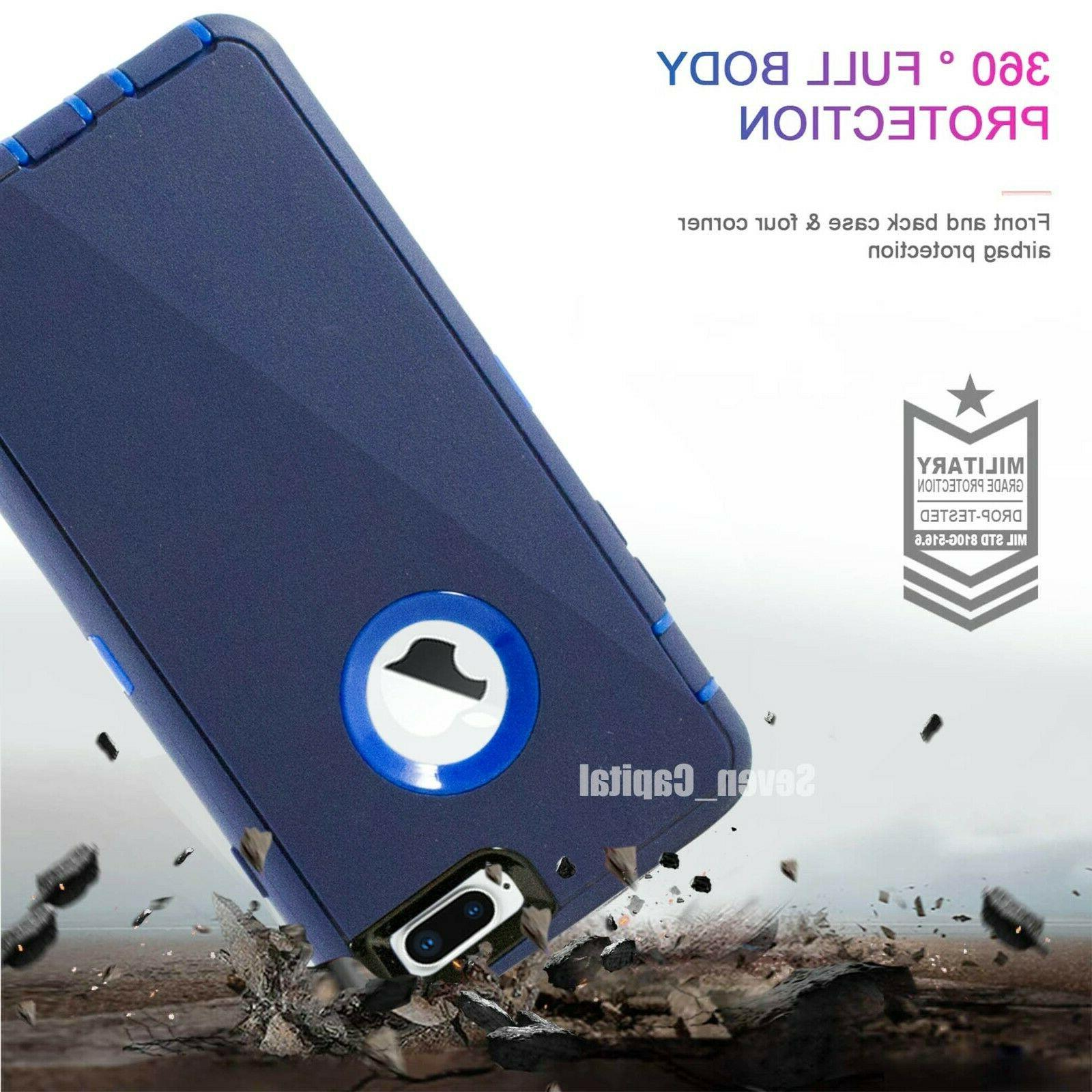 For iPhone 7 2 Cover w/ Screen