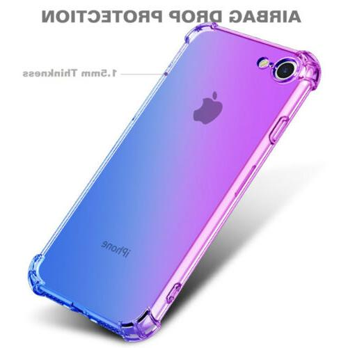 For iPhone 6S 7 2020 Shockproof Soft Clear Case