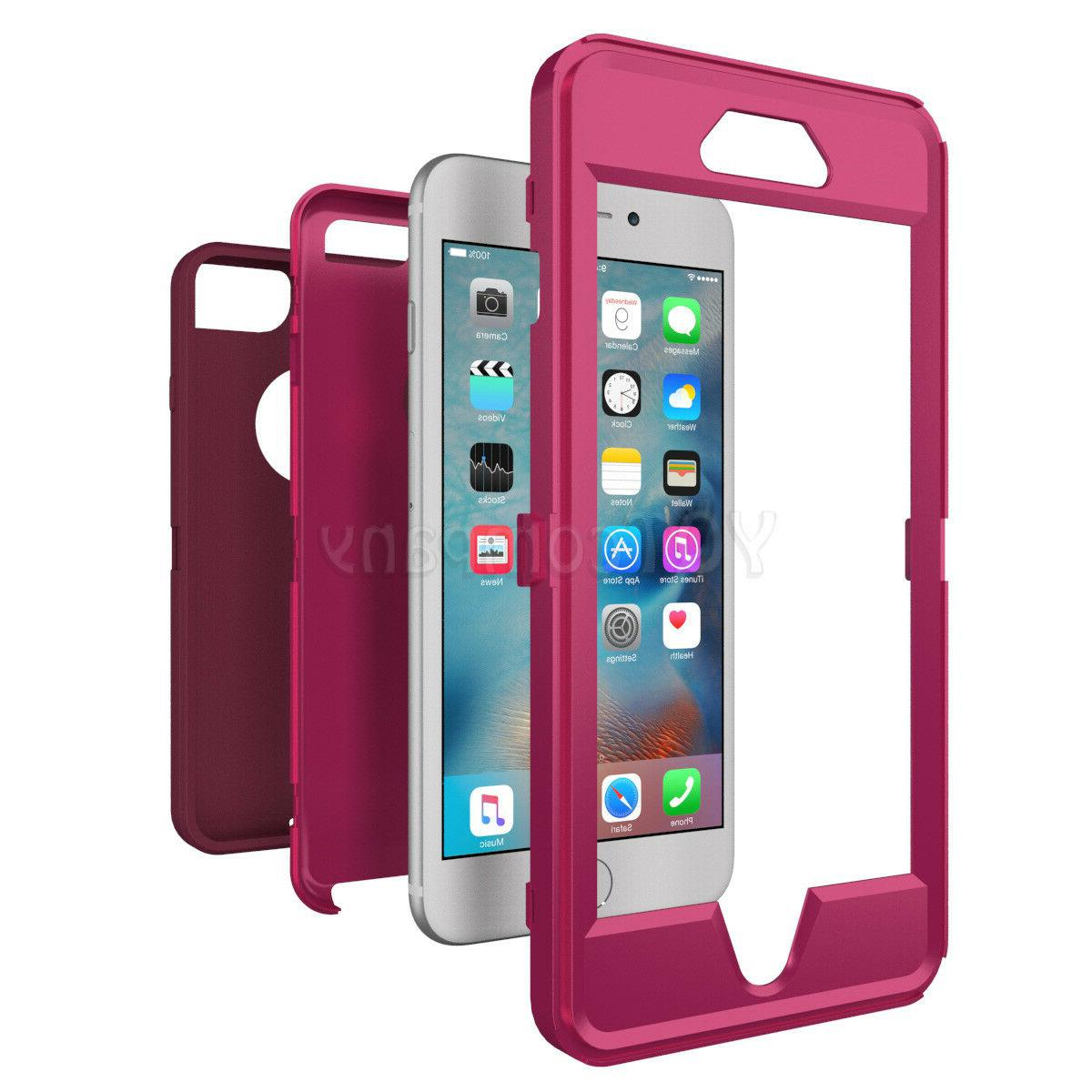 For iPhone 6 7 Plus XR Duty Rubber Cover
