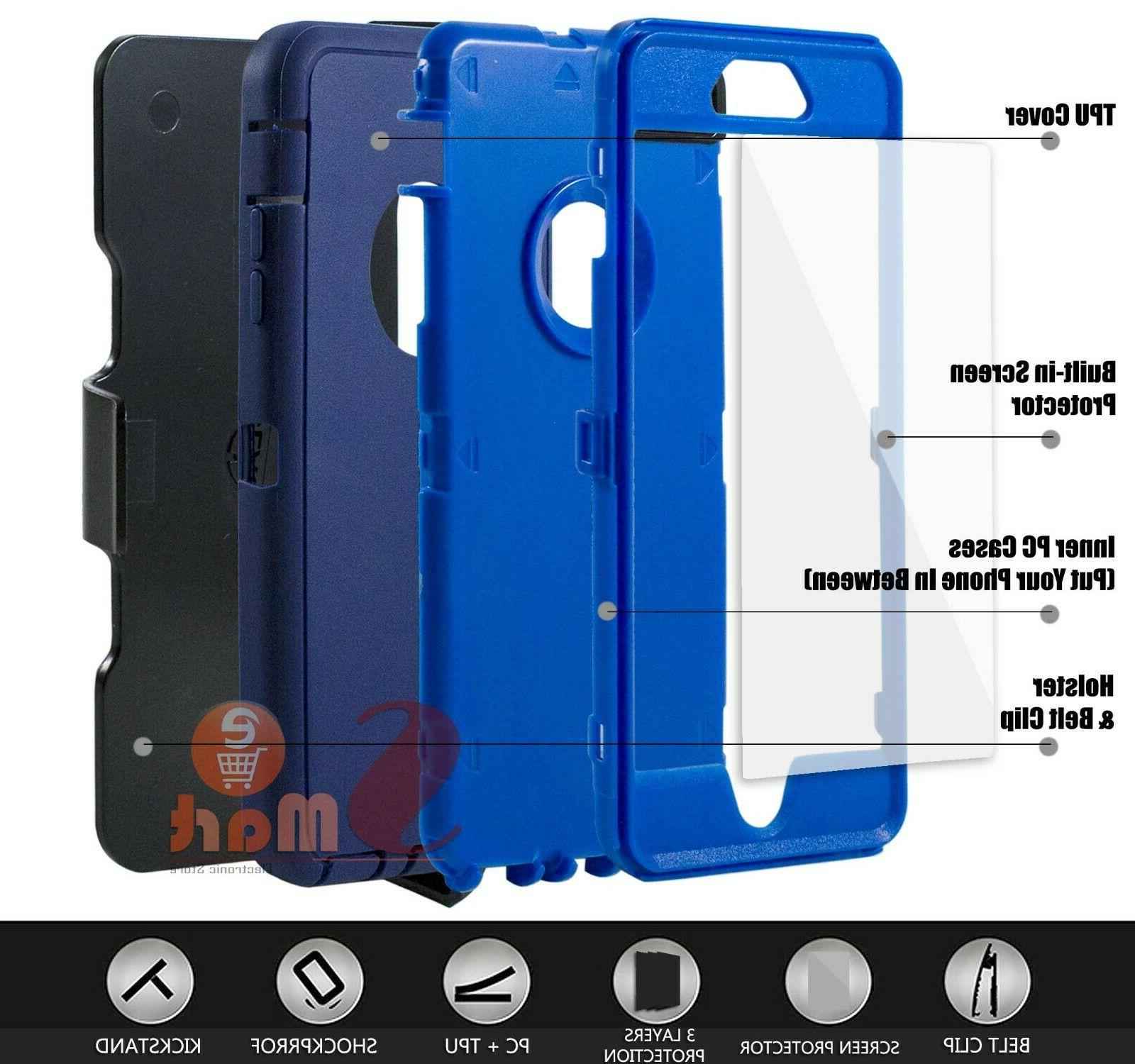 For 6 7 8 Case Cover Clip + Screen