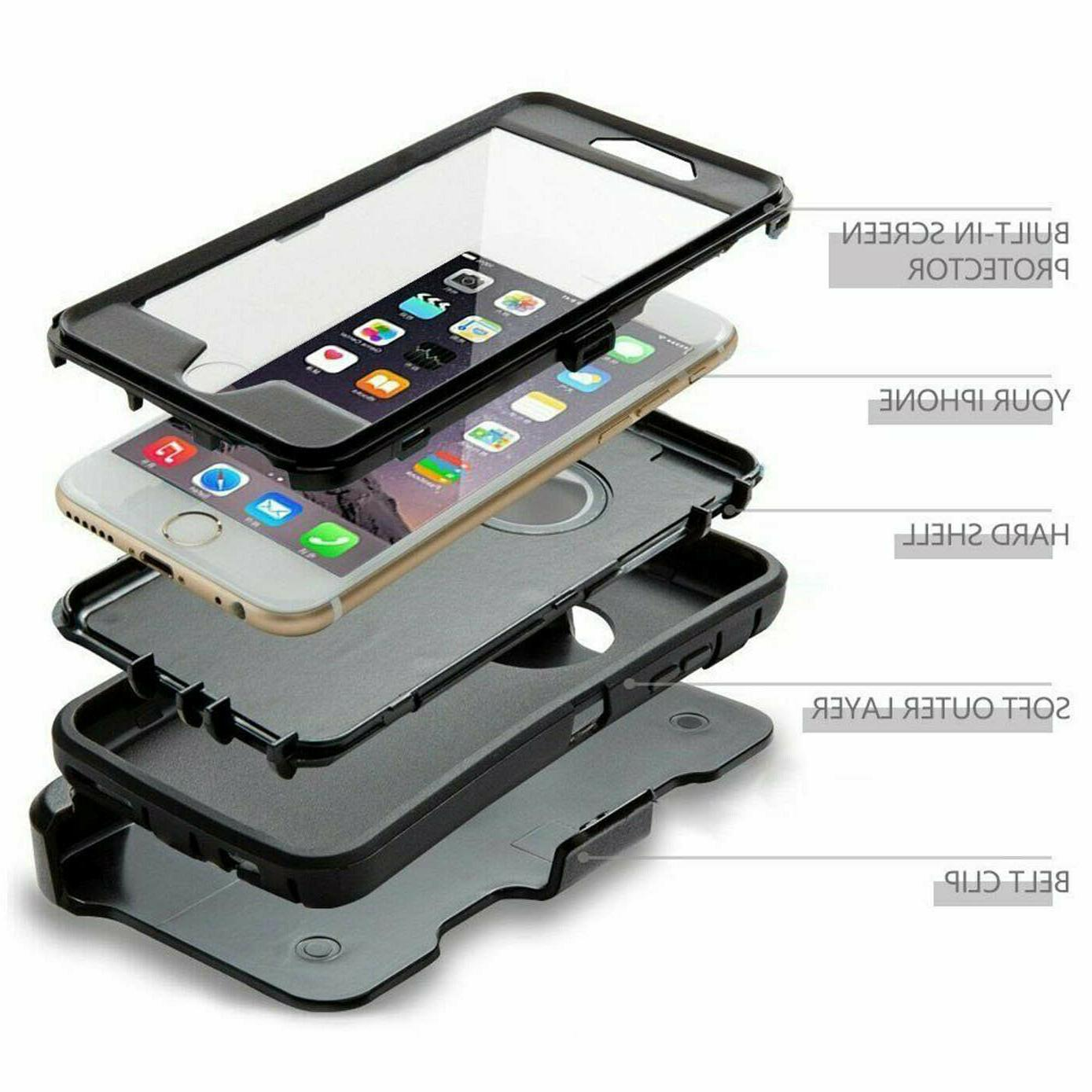 For iPhone Case with Belt +