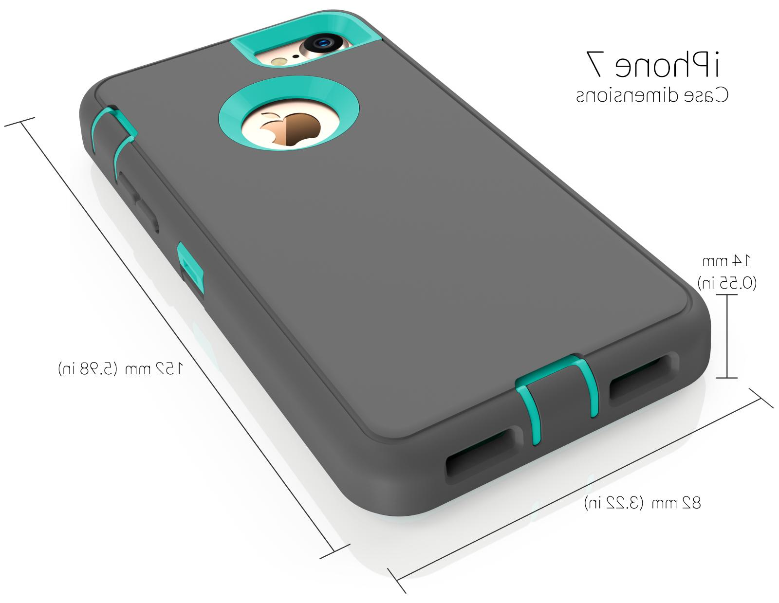 For 7 8 Case Cover Protective Hybrid