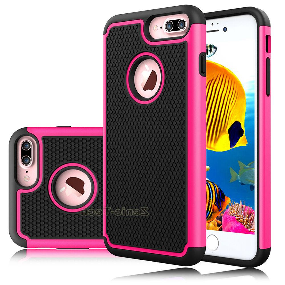 For Plus/8/8 Plus Phone Shockproof Armor Rubber