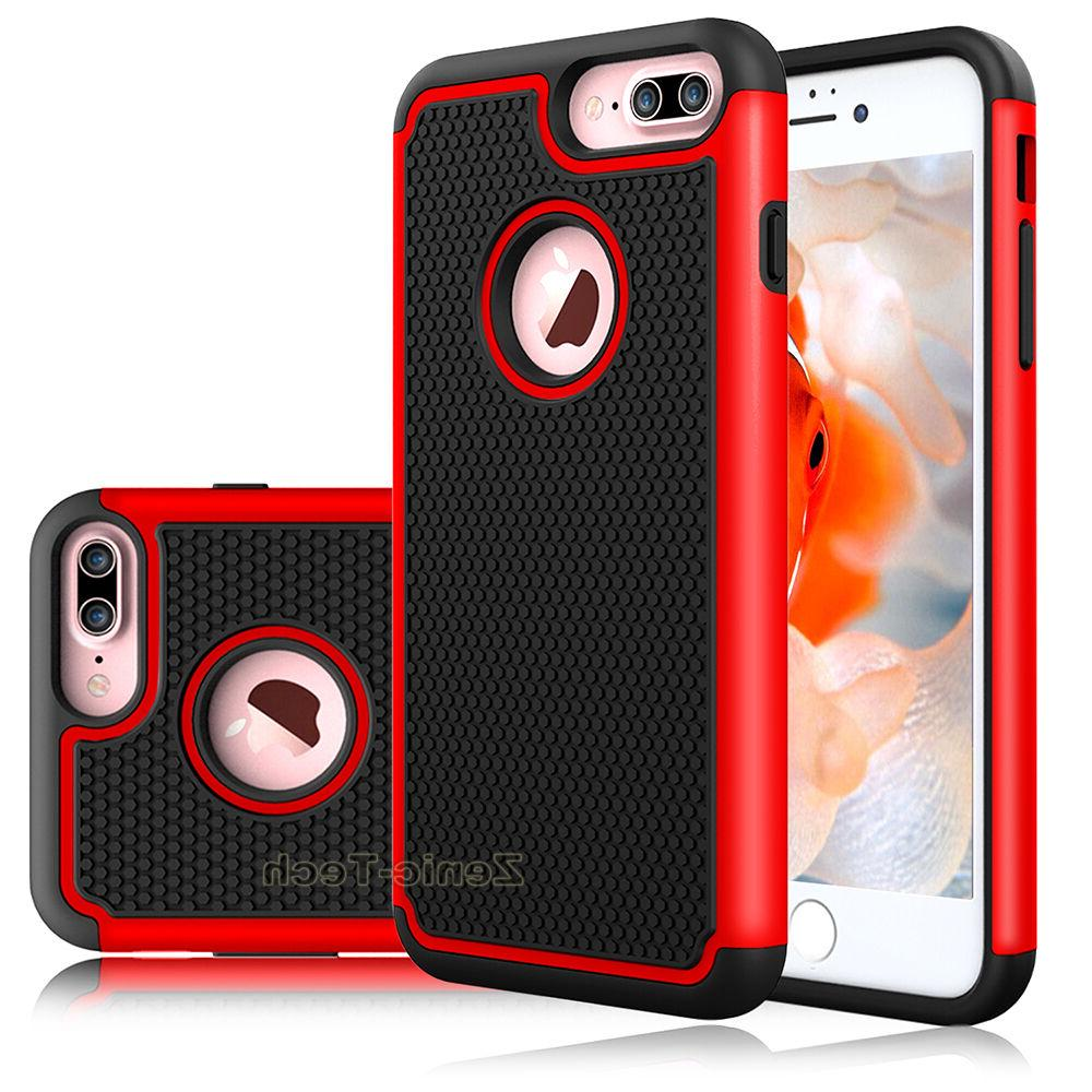 For 7/7 Plus Phone Armor Rubber