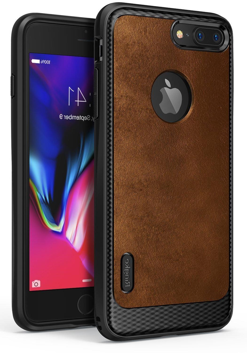 For iPhone 7 /7 Plus | Ringke  Premium Leather Style Flexibl