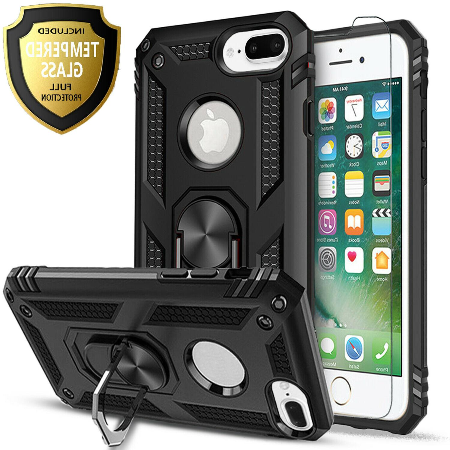 For Plus Dropproof Cover+Tempered Glass Protector