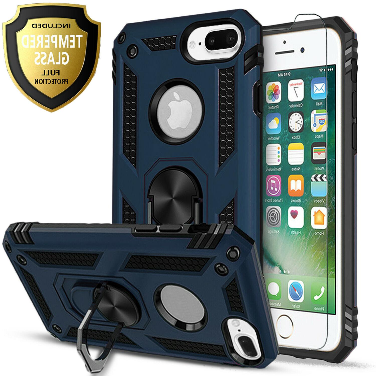 Plus Ring Dropproof Cover+Tempered Glass