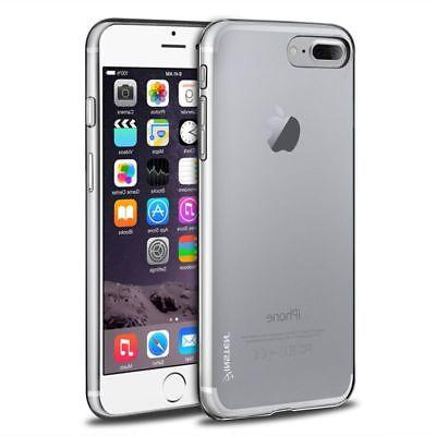 For iPhone 7 8 Plus Crystal Clear Gloss Soft TPU Gel Rubber