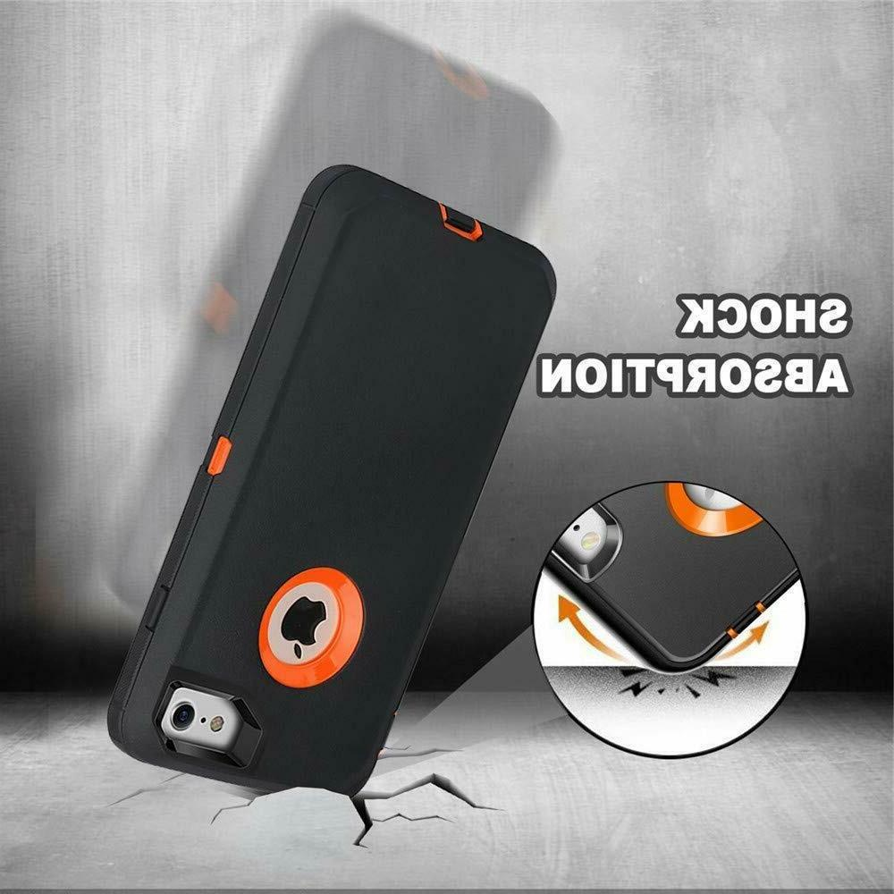 For 8 Plus Shockproof with fits OtterBox Defender
