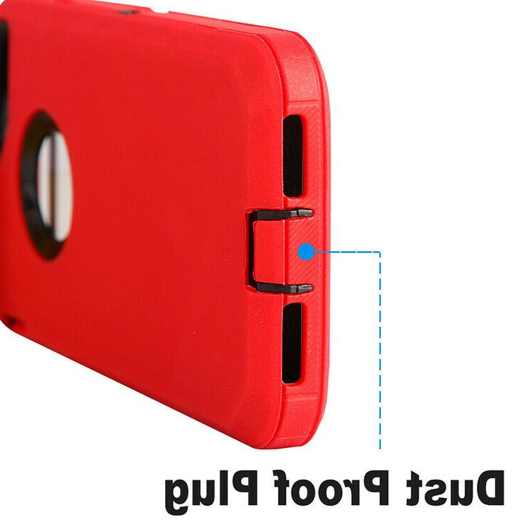 For iPhone 7 8 Plus Heavy Duty Cover Clip Screen