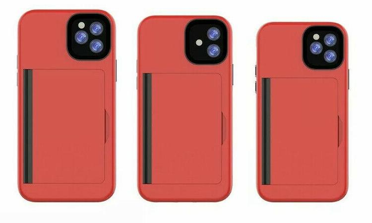 iPhone 8 X XS PRO Cover CARD HOLDER