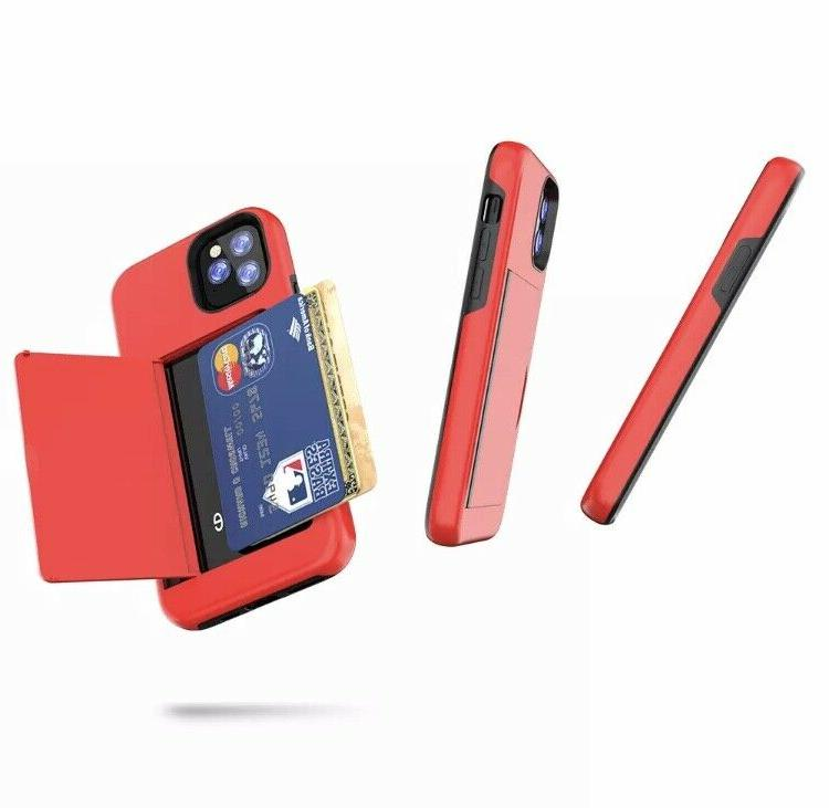 iPhone X XS PRO Cover Wallet CARD HOLDER