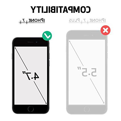 for 7 for Matone Absorption Bumper TPU Cover Case for iPhone - Clear