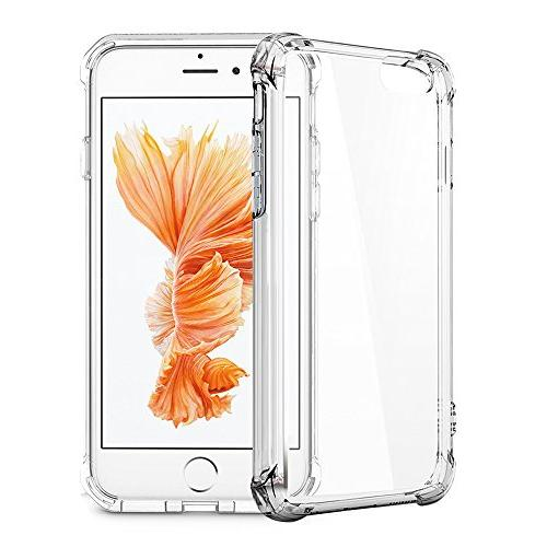 for iPhone for iPhone Matone Clear Absorption Technology Bumper TPU Case iPhone - Clear