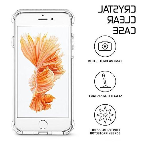 for 7 for iPhone 8 Matone Crystal Absorption TPU Cover iPhone /iPhone 8 -