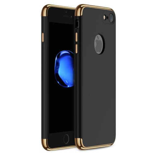 iPhone 7 Case Slim Hard Case with 3 Detachable CHROME GOLD a