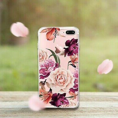 Case,Floral Case for Plus