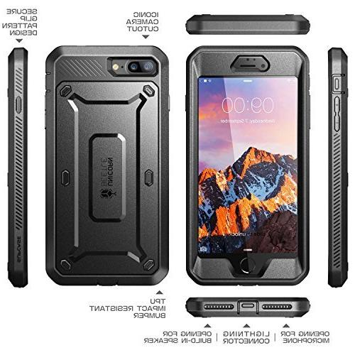 SUPCASE Plus Case, 8 Plus Case, Beetle Case with Protector Plus / iPhone Plus