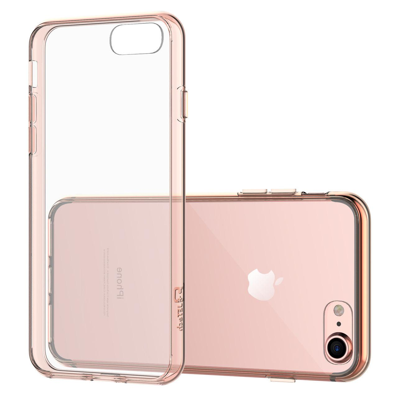 "JETech® iPhone 7 Slim Shockproof Clear Bumper Cover 4.7"" ca"