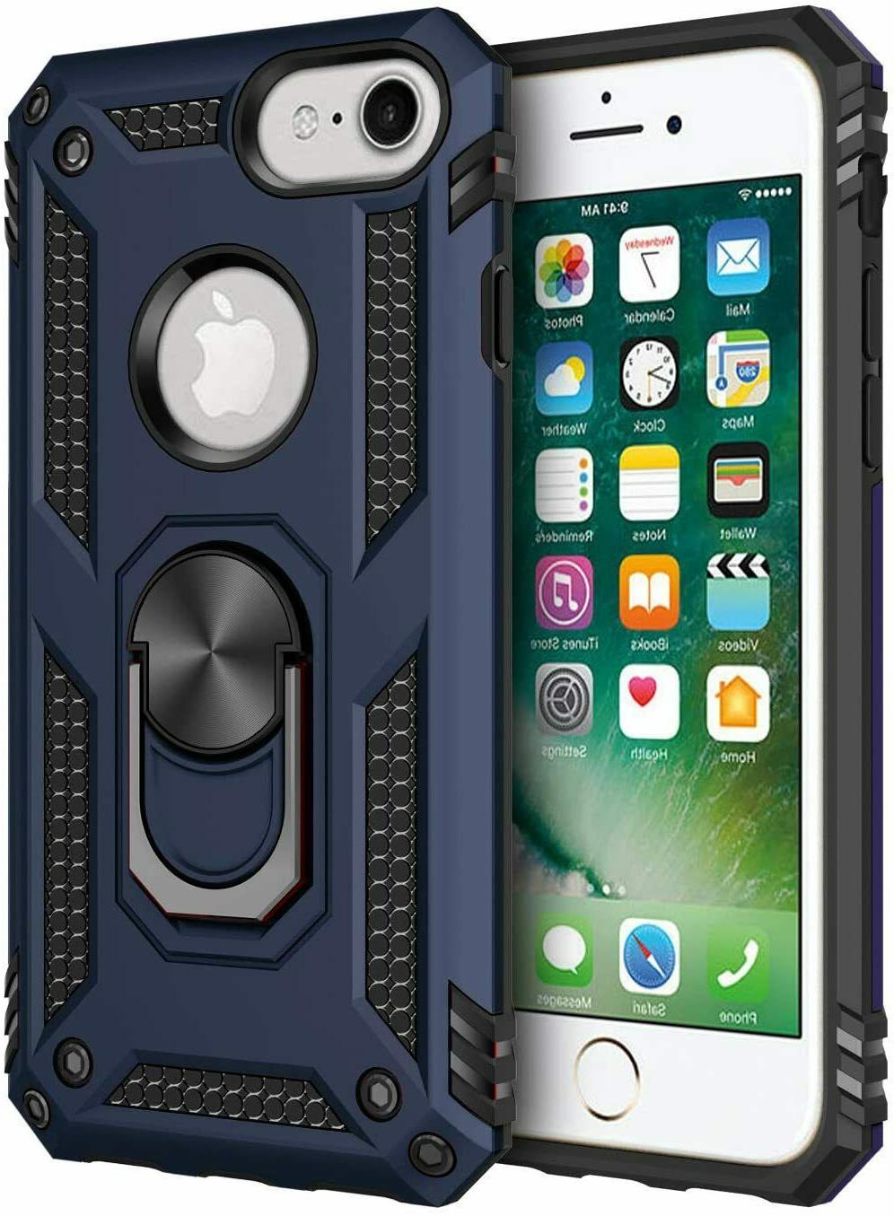 For Iphone & iPhone 8Plus Kickstand Shockproof Ring Holder