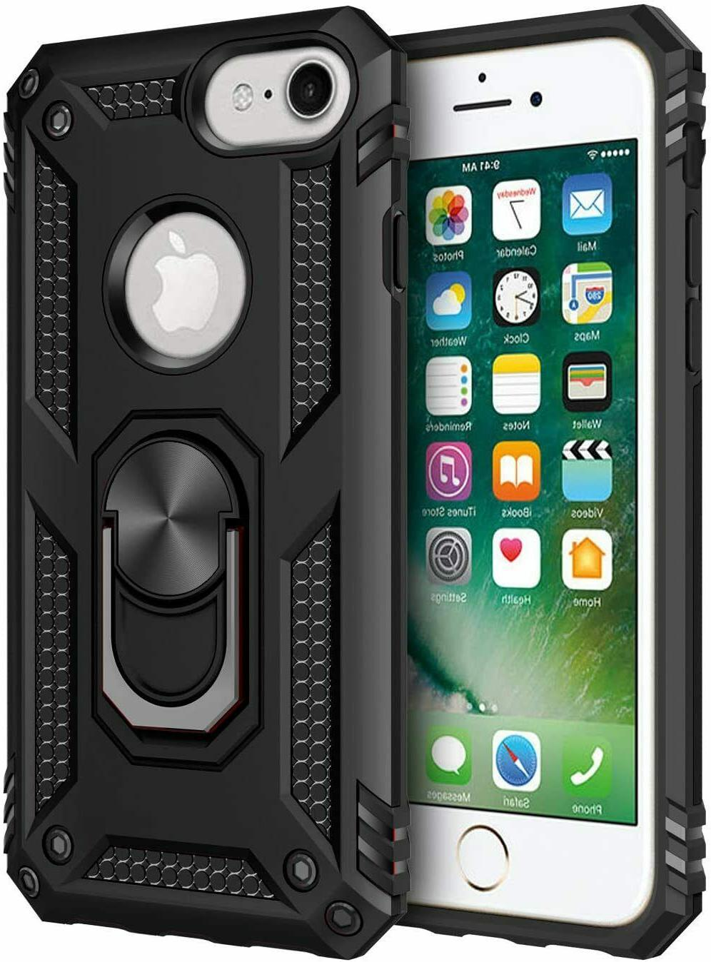 For Iphone iPhone Shockproof Ring Holder Cover