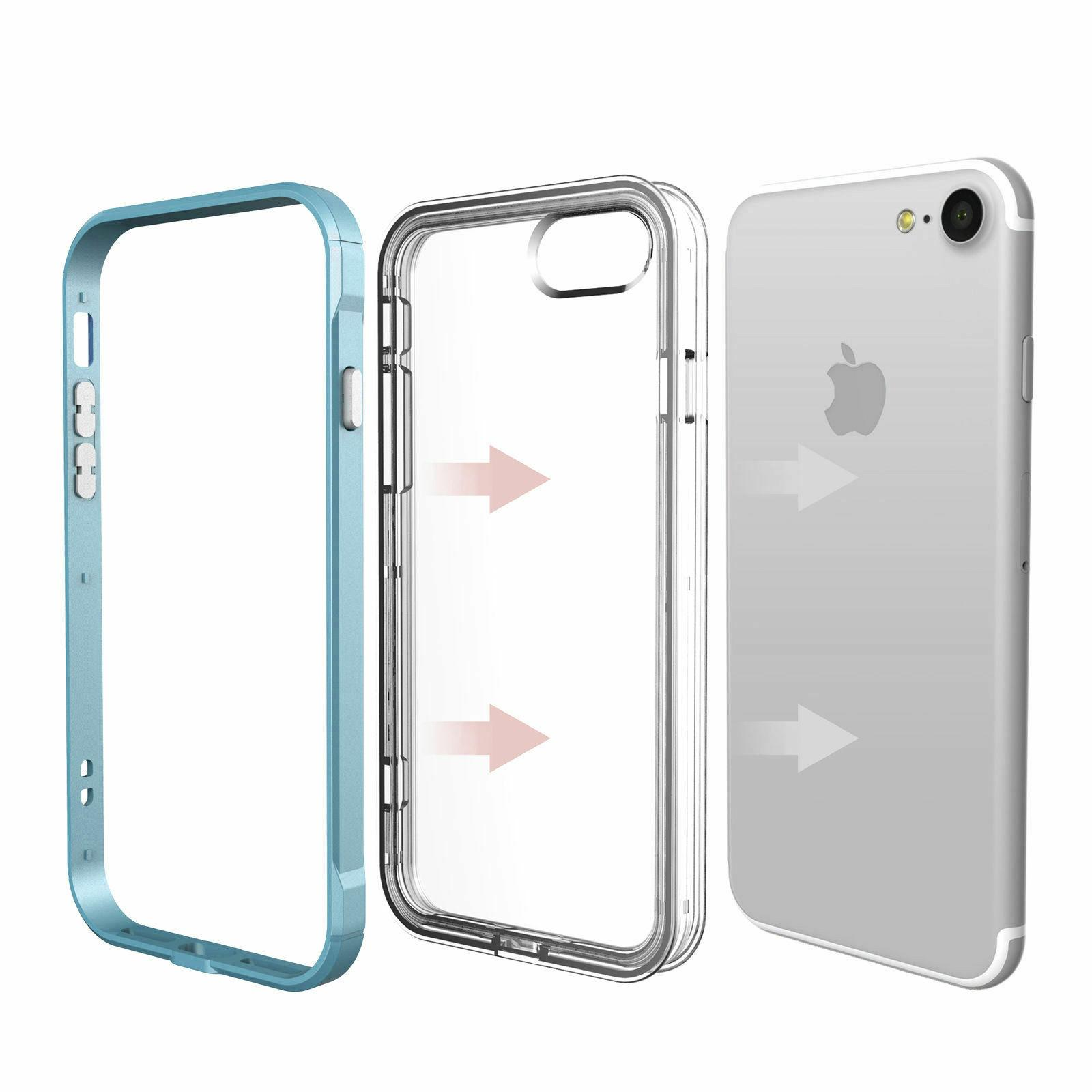 6 Plus XS XR Max Clear Case Cover Shockproof TPU Bumper