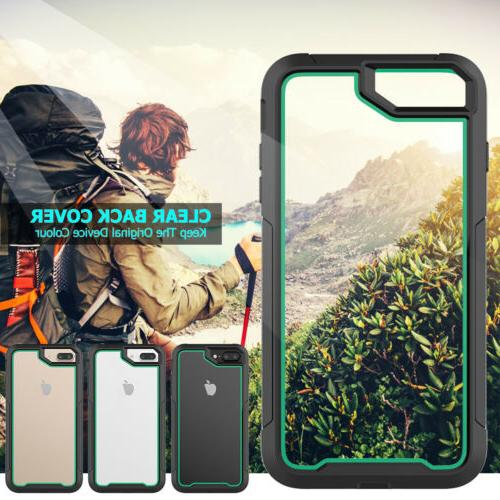 For iPhone 6s Plus Duty Hybrid Shockproof Phone Case Cover