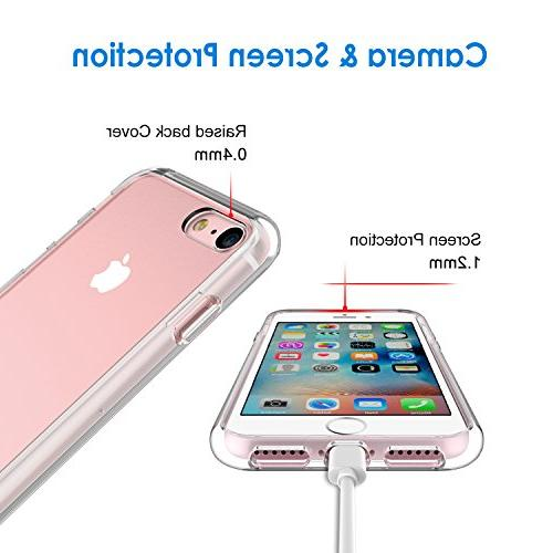 iPhone and 7, 4.7-Inch, Cover, Clear HD Clear
