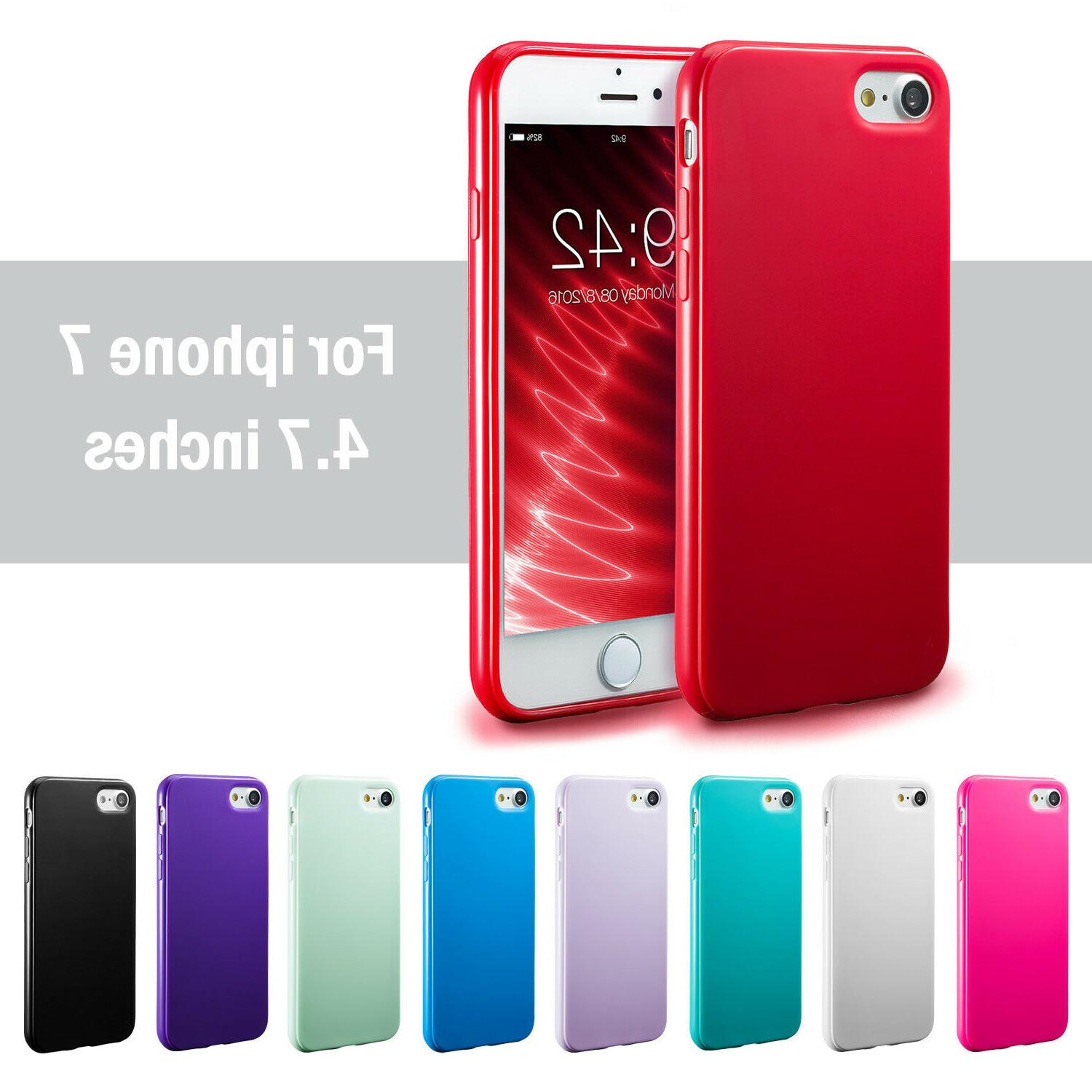 iPhone iPhone 8 Shockproof Rubber TPU