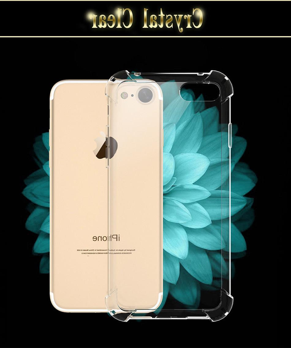 For iPhone 8 Plus Phone Soft Clear Slim