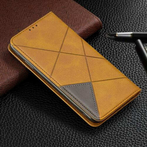 For 7 Leather Magnetic Wallet