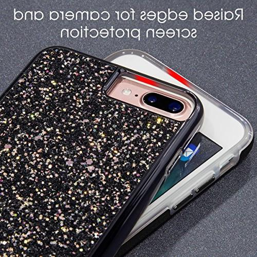 iPhone Plus iPhone Plus MIRACASE Bling Sparkle Layer Hard Cover Glitter for 7