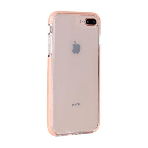 For iPhone 8Plus Case Clear Silicone Bumper Cover