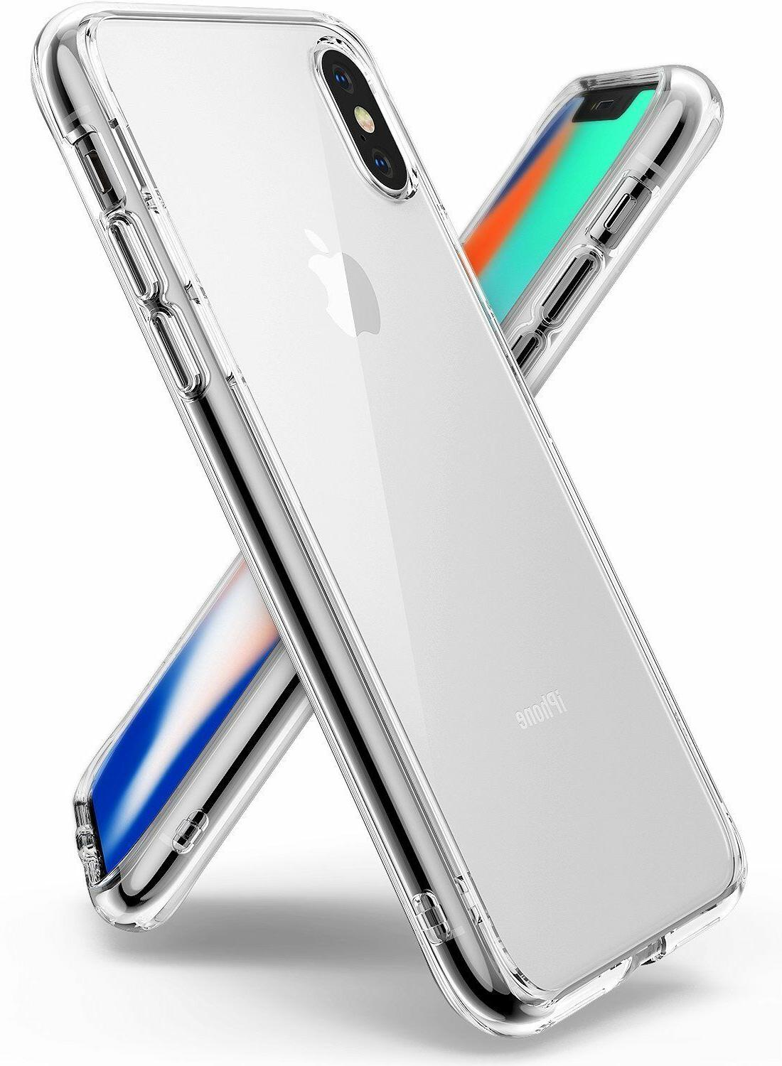 For iPhone X / 8 / 8 Plus Ringke  Shockproof Protective Clea