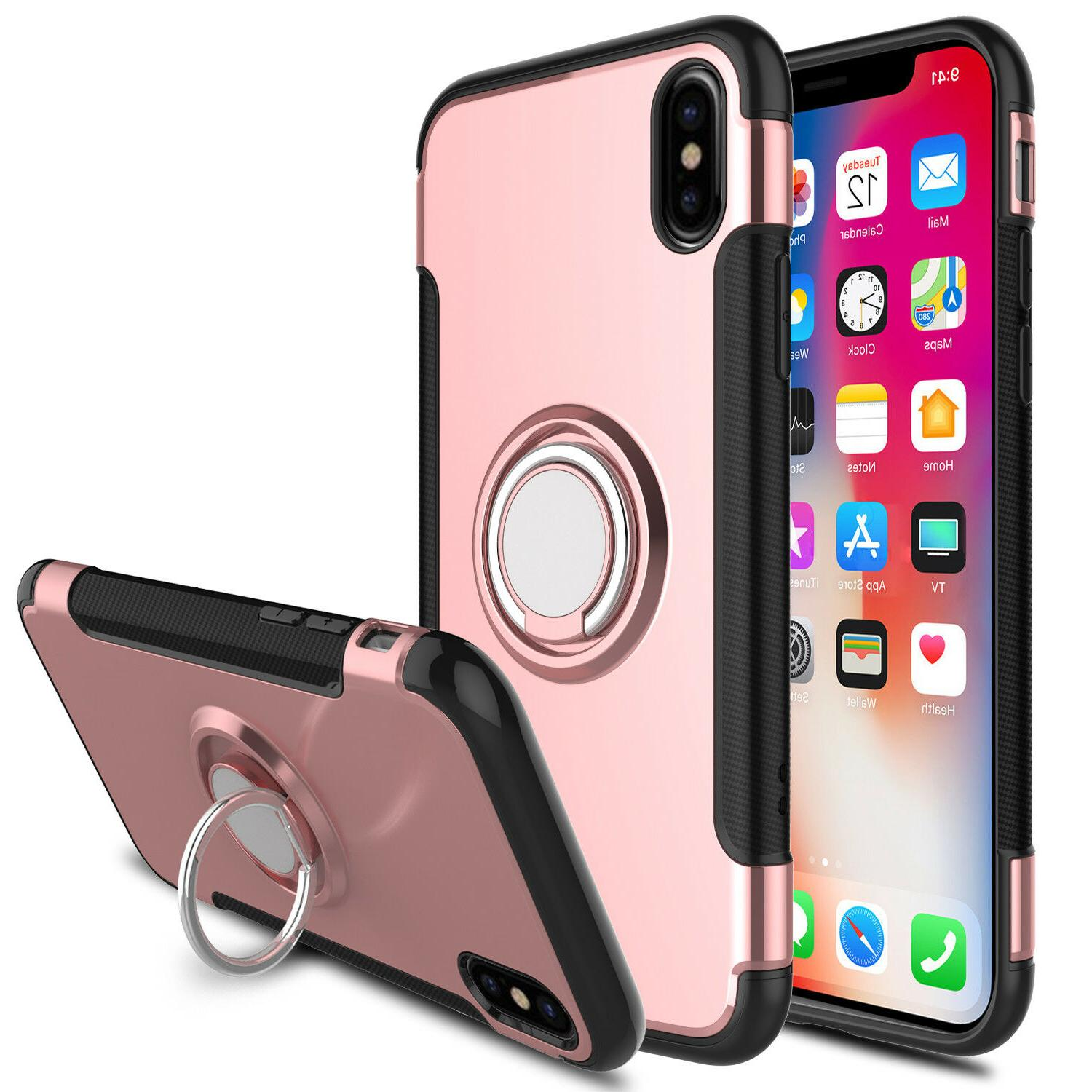 For iPhone 7 Plus Case Shockproof Stand Cover