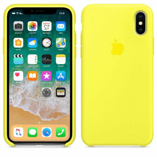 For iPhone X XR 8Plus Original Genuine Luxury Cover