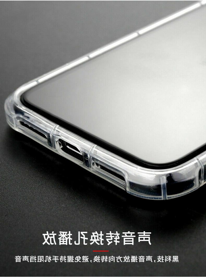 For XS XR XS Max 6s 8 Clear Shockproof Case