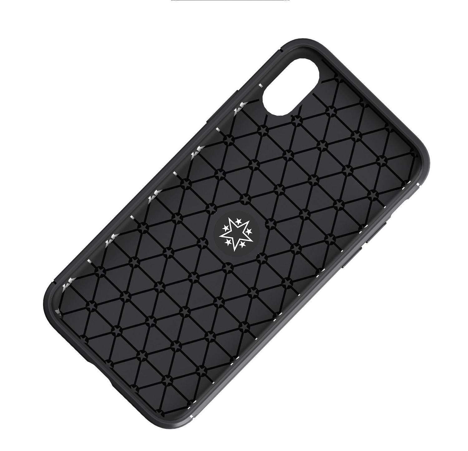 For X XR 8 Plus Ring Stand Case Cover