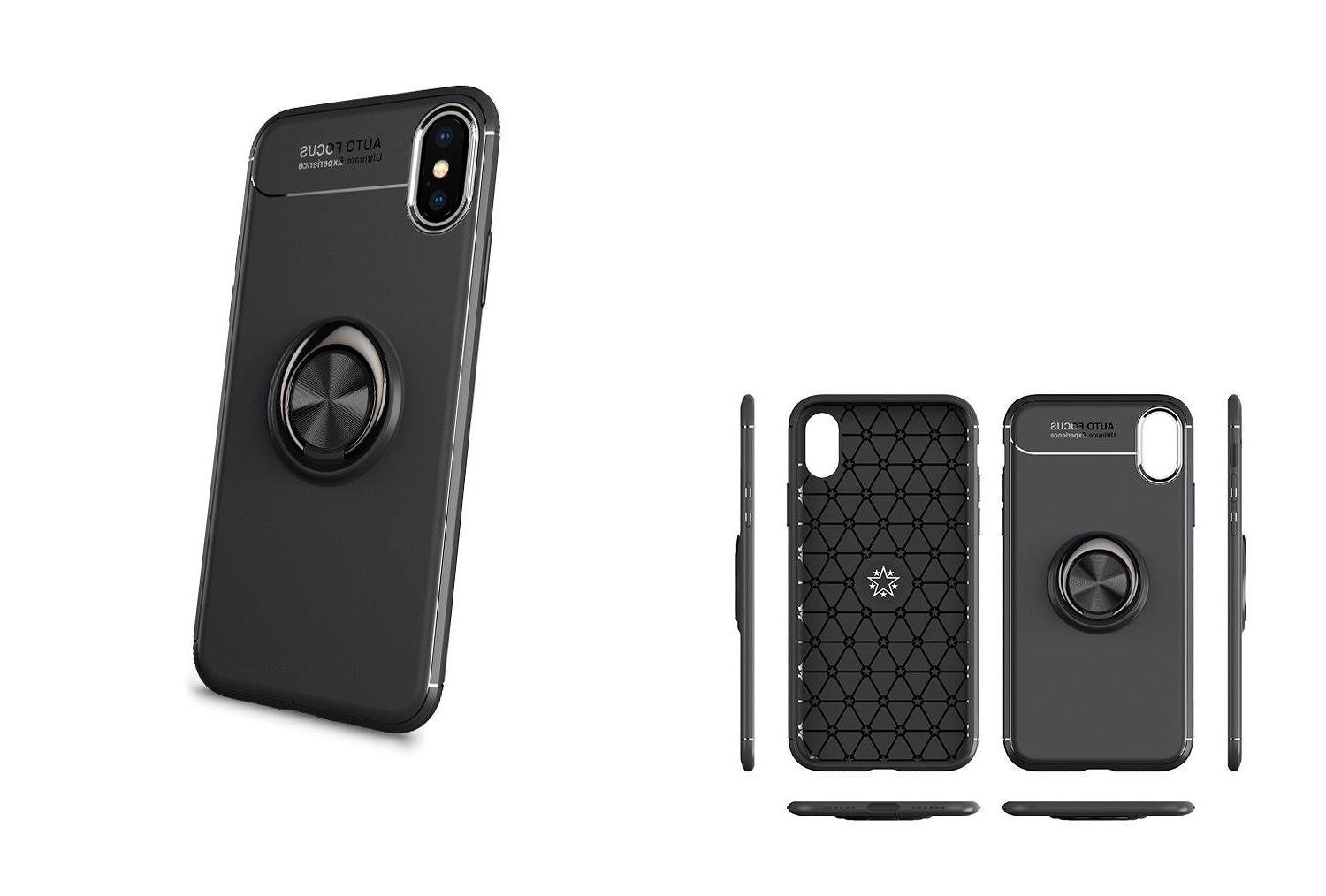 For iPhone XR Max 7 8 Magnetic Cover