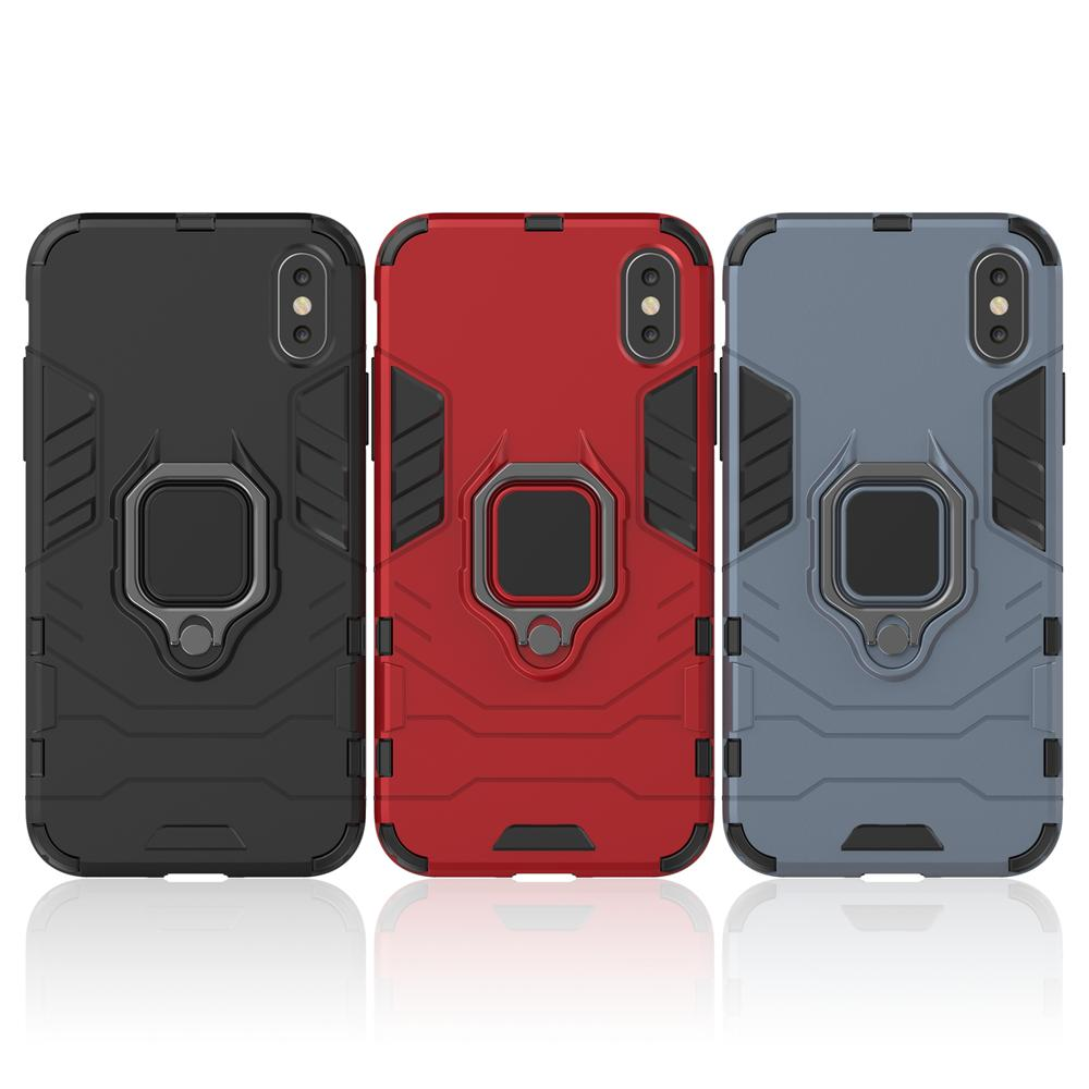 For iPhone 11 XR Stand Ring Holder Case