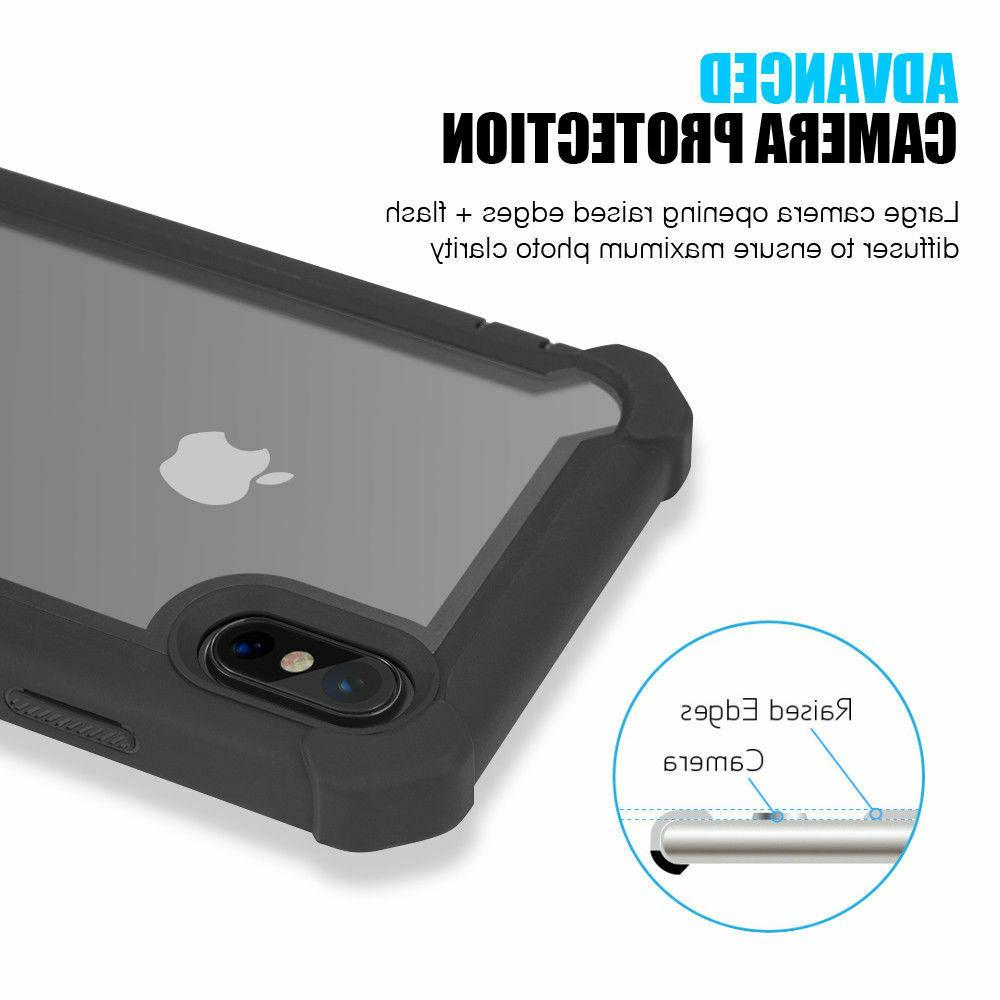 For iPhone / XS Max / X / 8 6 Plus Protective Duty Hybrid Rugged Case