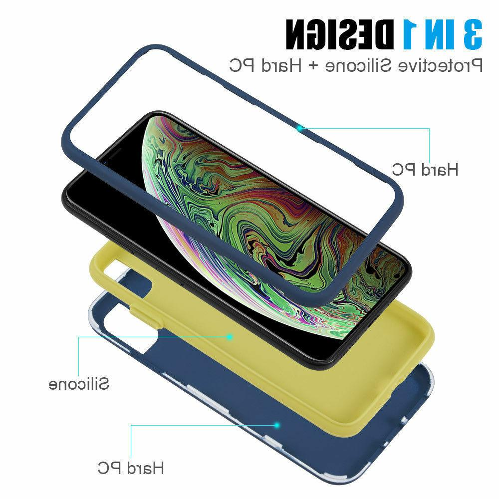 For iPhone / XS / / 8 7 6 Plus Heavy Duty Hybrid