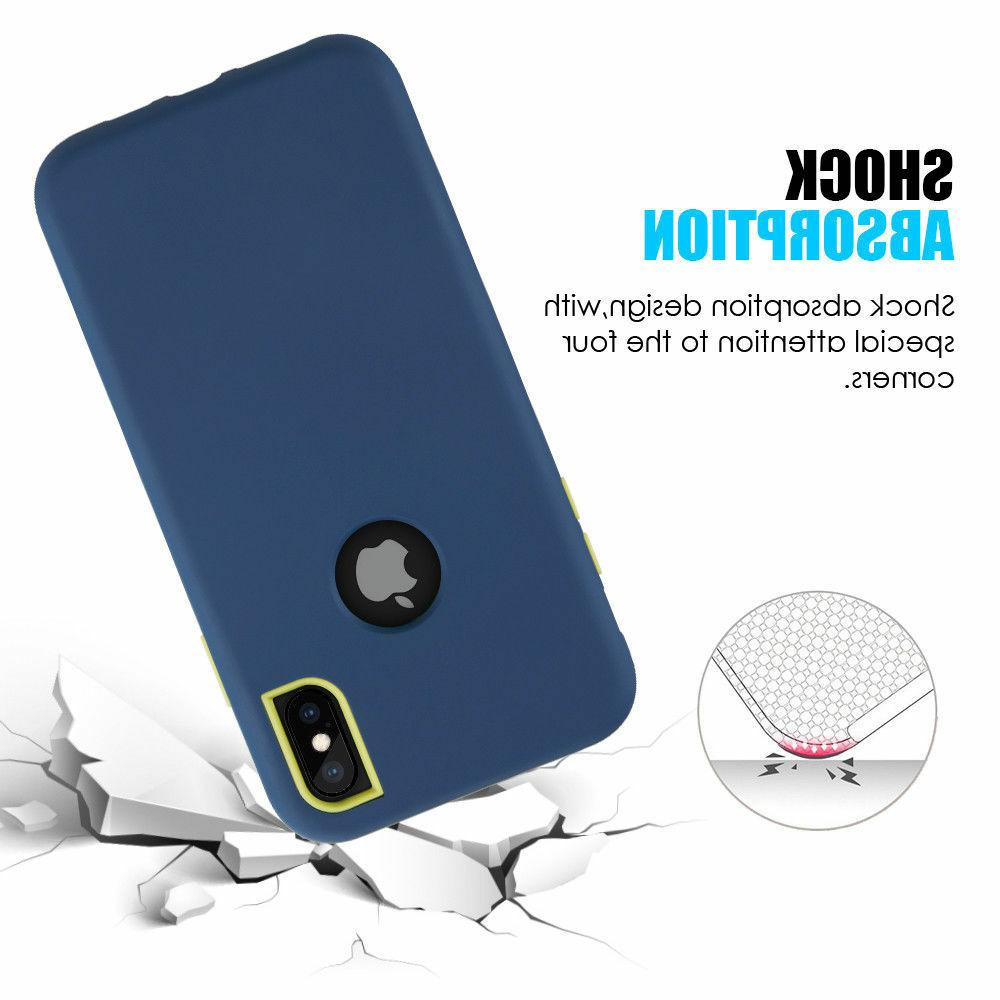 For iPhone / Plus Protective Heavy Duty Hybrid Case