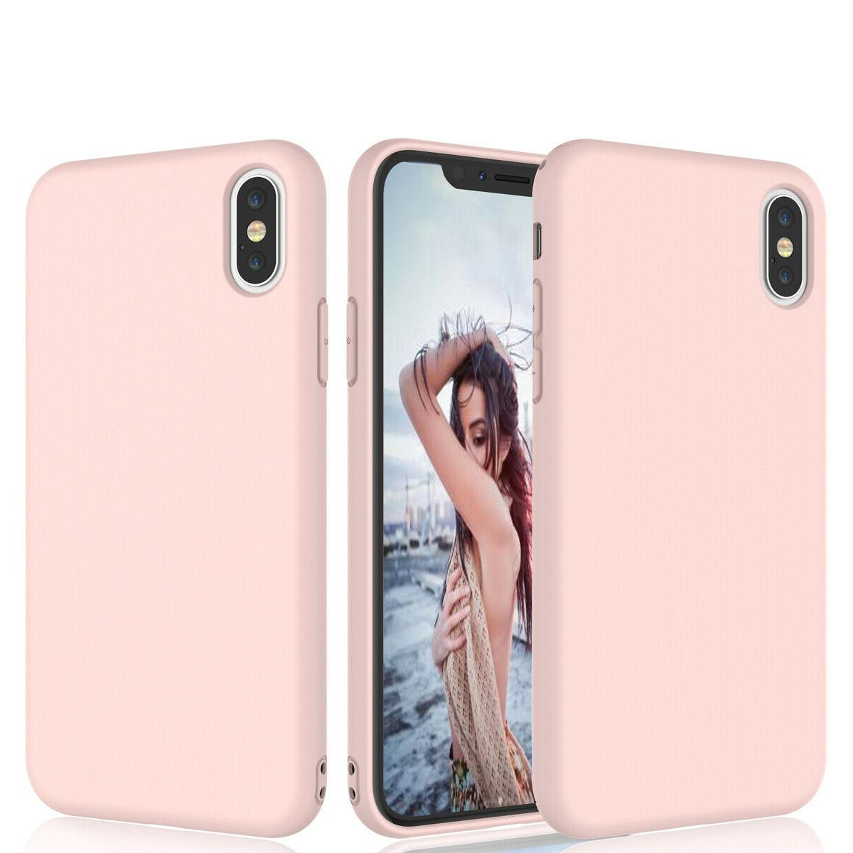 For iPhone Mini 12 Pro XS XR 6 6S 8 Soft Case