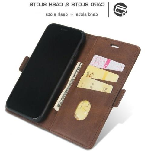 For Max XR 7 Magnetic Card Case Cover