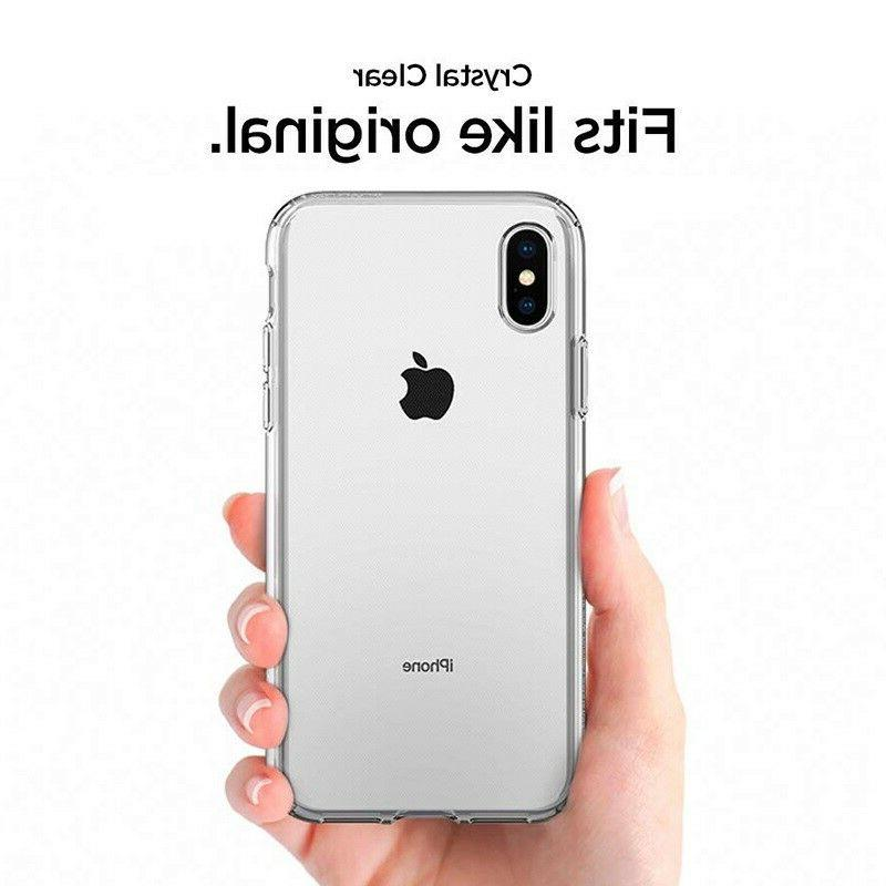 For iPhone 8 XS 11 12 Mini Clear Case
