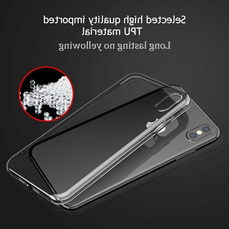 For 8 XS XR 12 Clear Case