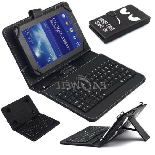 """Keyboard Case Cover For Samsung Galaxy A 10.1"""" Tablet"""