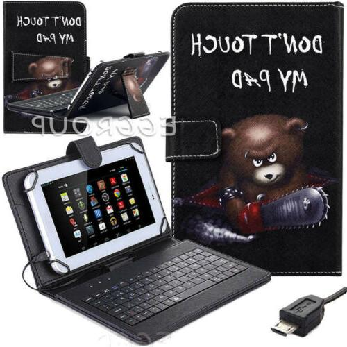 """Keyboard For Samsung A A6 7"""" 10.1"""" Tablet"""