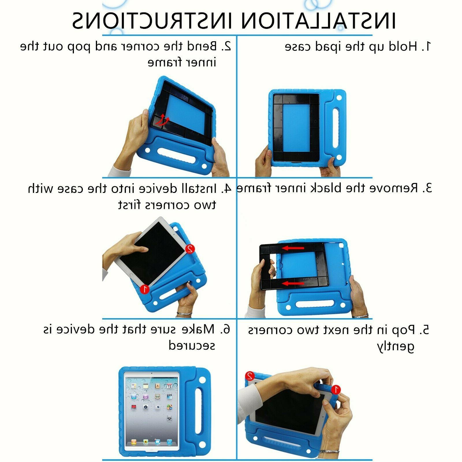 """For iPad Generation 10.2"""" Built-in Handle Cover"""
